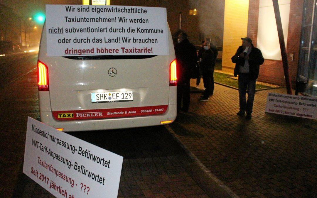 Streit um Taxi-Tarif im Saale-Holzland