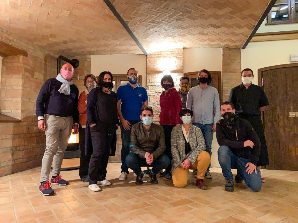 Partnerschaftstreffen des Internationalen Vereins Kahla mit der Partnerschaftsgesellschaft Castelnovo Ne'monti