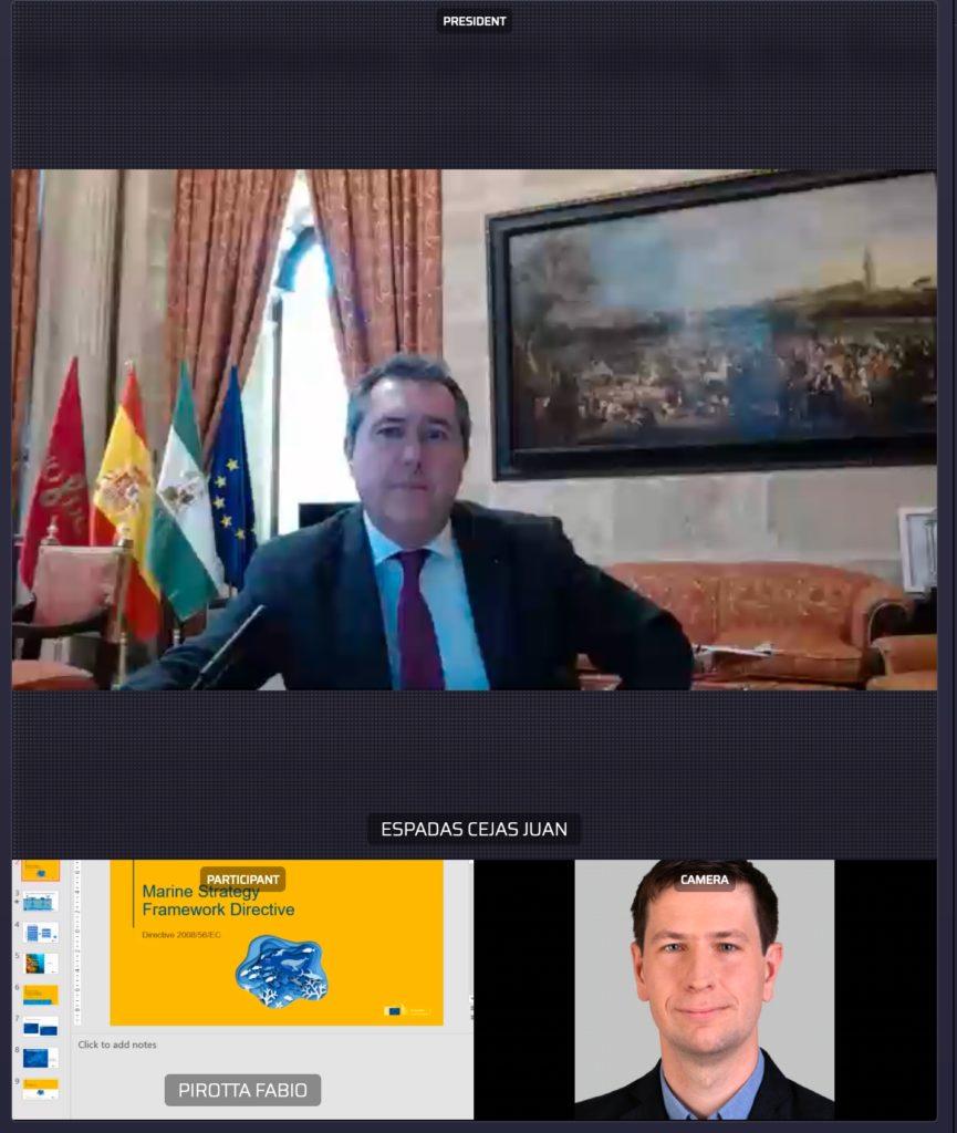 """Genauso wie die EU nutzt der AdR das Videokonferenz- und Abstimmungstool """"Interactio""""."""