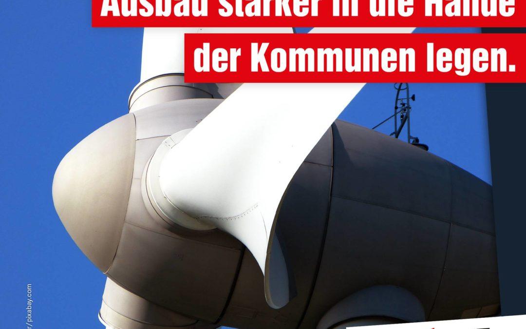 Gesetzentwurf der CDU ist Scheindebatte – Nutzung von Sonne und Wind essenziell für Energiewende