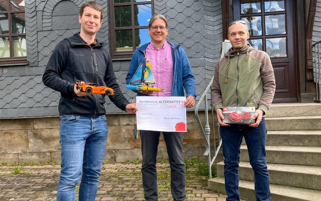 Pfad ins Leben e.V. – Spende für Wohngruppe Hummelshain